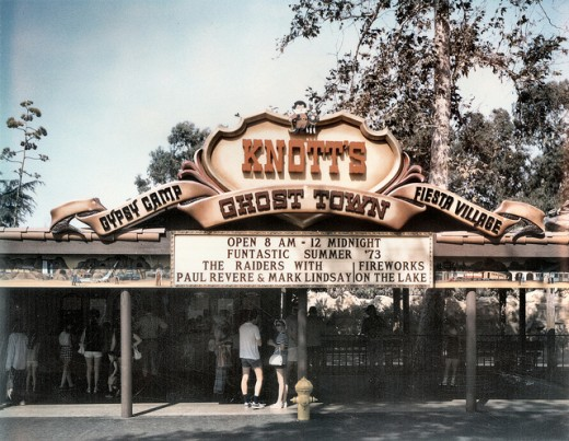 Knott's Berry Farm Entrance 1973
